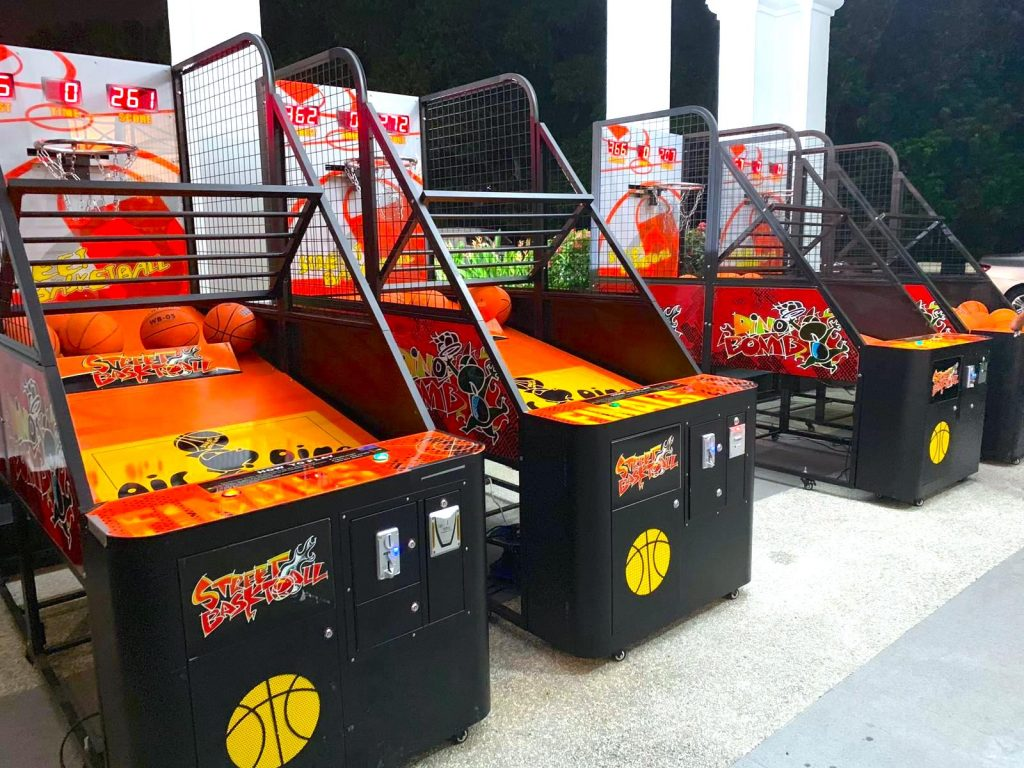 Arcade Basketball Machines for Rent