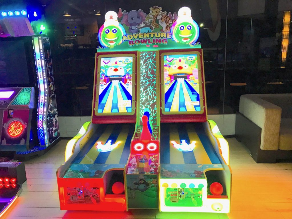 Arcade Bowling Machine Rental