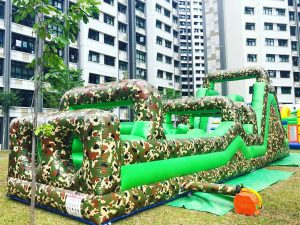 Army Inflatable Obstacle Course Rental