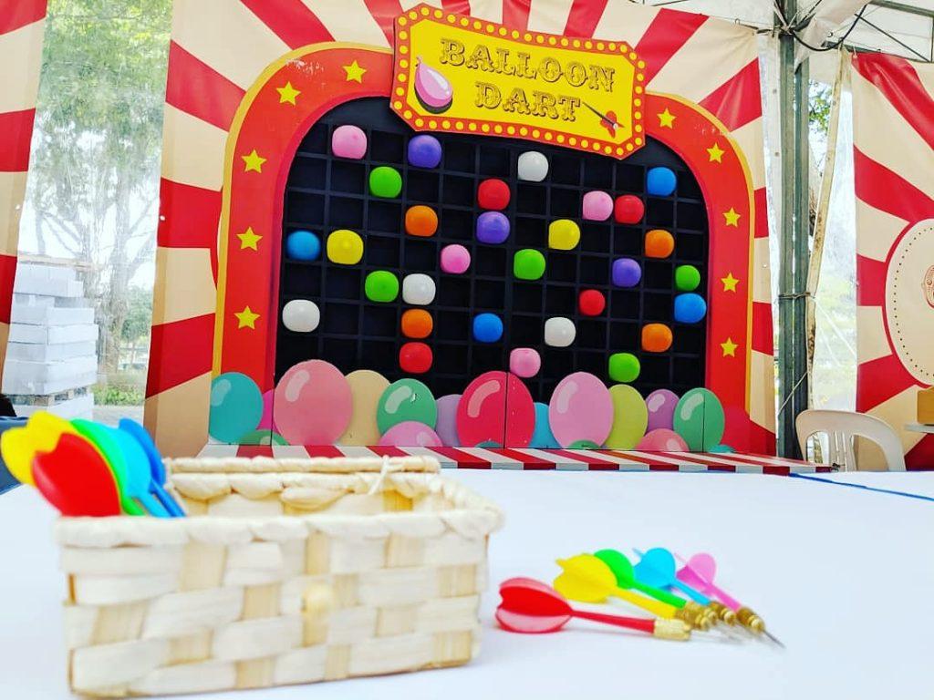 Balloon Dart Carnival Game Singapore