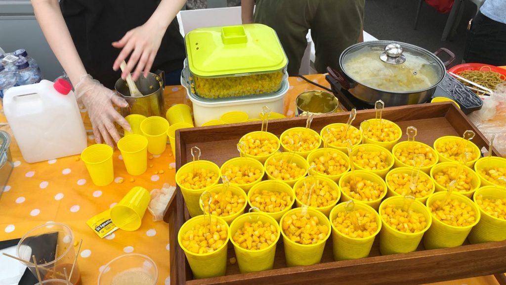 Event Live food station