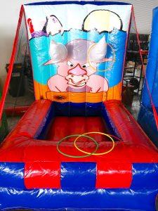 Inflatable Bull Horn Ring Toss Game Stall Rental