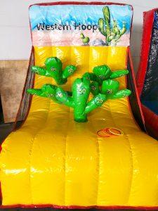 Inflatable Western Hoop Game Stall Rental