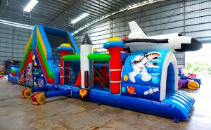 Outer Space Inflatable Obstacle