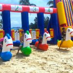 Pony Race Inflatable Games