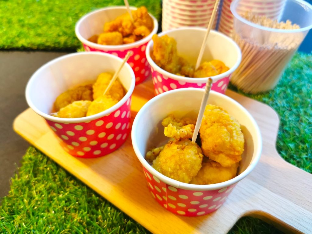 Popcorn Chicken Live Station Singapore