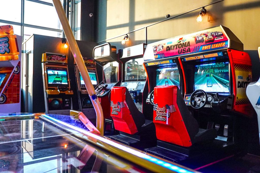 Retro Arcade Machines Rental Singapore