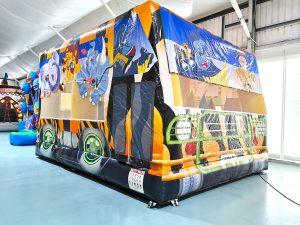 Safari Bus Bouncy Castle Rental Singapore