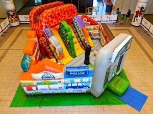Safety Fun City Bouncy Castle