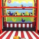 Shoot them down carnival game stall rental