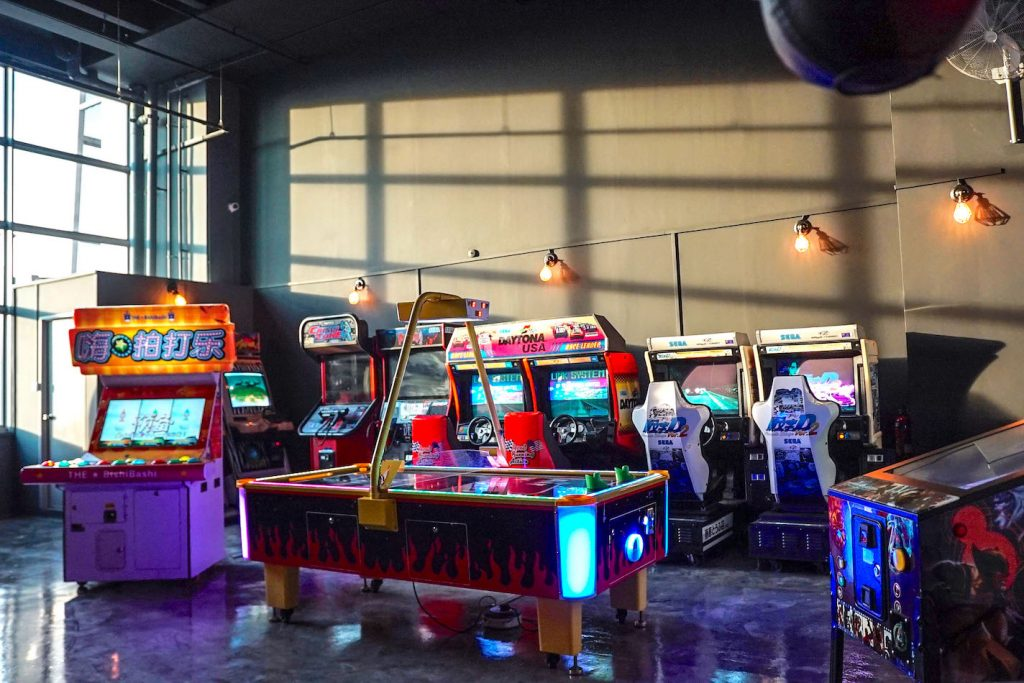 Singapore Arcade Machines Rental