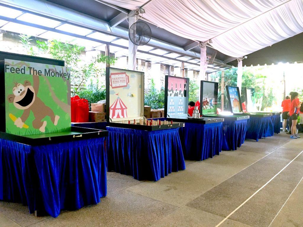 Singapore Carnival Game Stalls