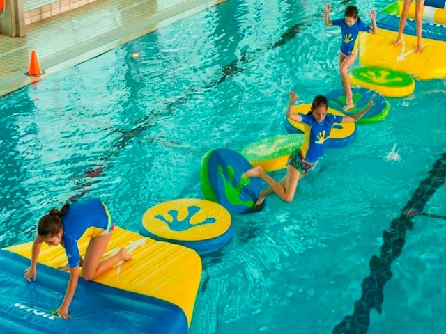 Stepping Stones Inflatable Game Rental