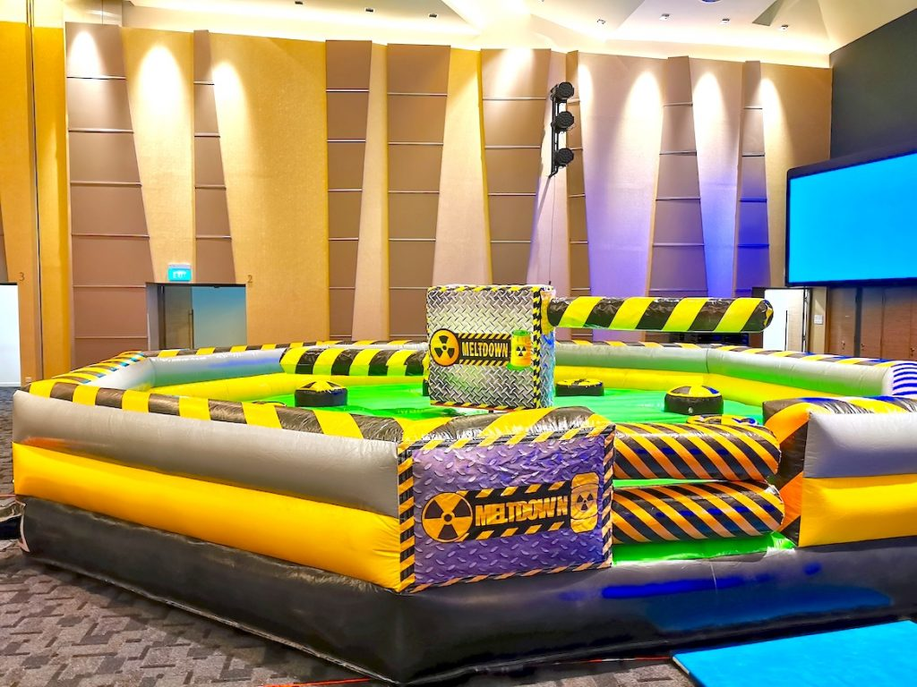 Wipe Out Meltdown Inflatable Game Rental