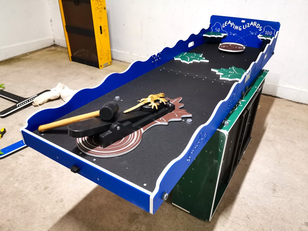 Leaping Lizards Carnival Game Booth Rental
