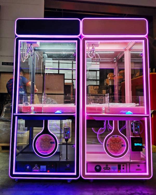 Arcade Claw Machine Rental Singapore