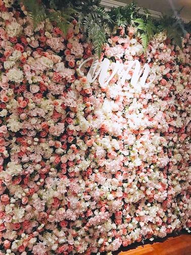 Flower Wall backdrop decoration