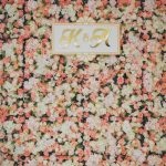 Flower wall backdrop decoration in Singapore