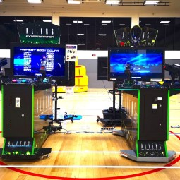 Alien Shooting Arcade Machines Rental