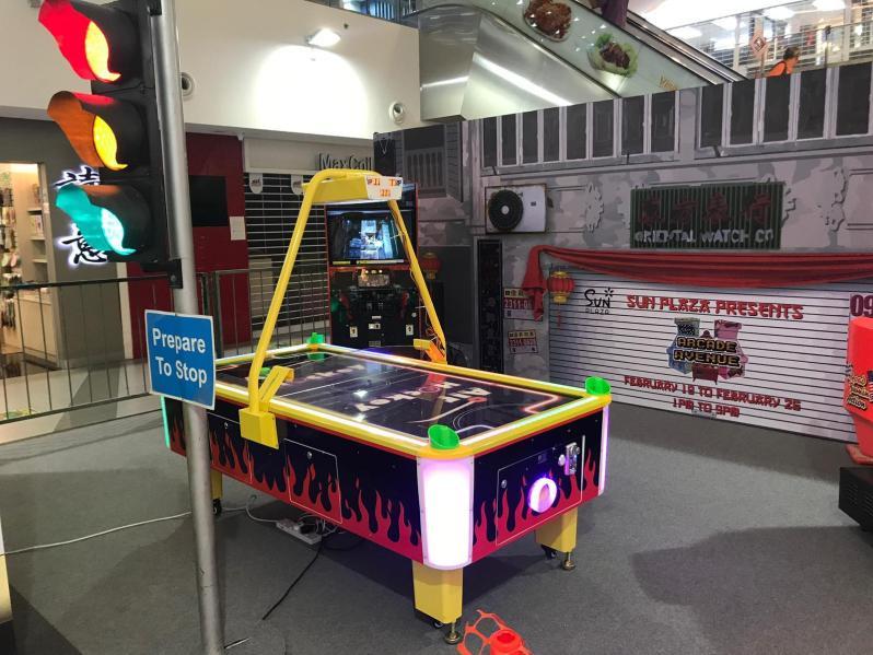 Arcade Air Hockey Table Rental