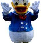 Cartoon Duck Mascot Costume Rental