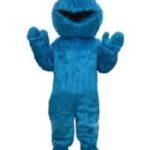 Cookie Monster Inspired Mascot Costume Rental