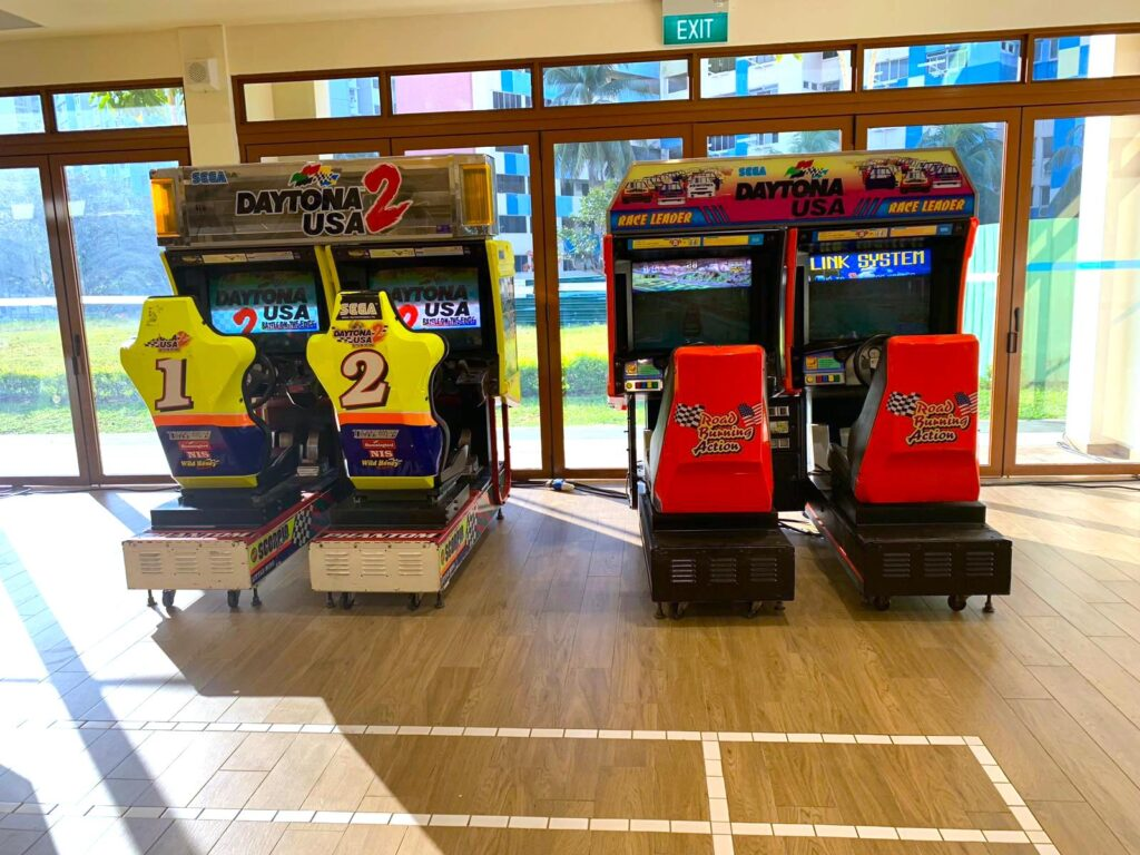 Daytona Racing Arcade Rental