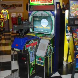 Slient Scope Arcade Machine Rental