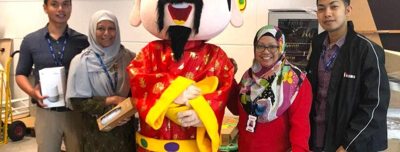 CNY Mouse mascot in singapore for rental