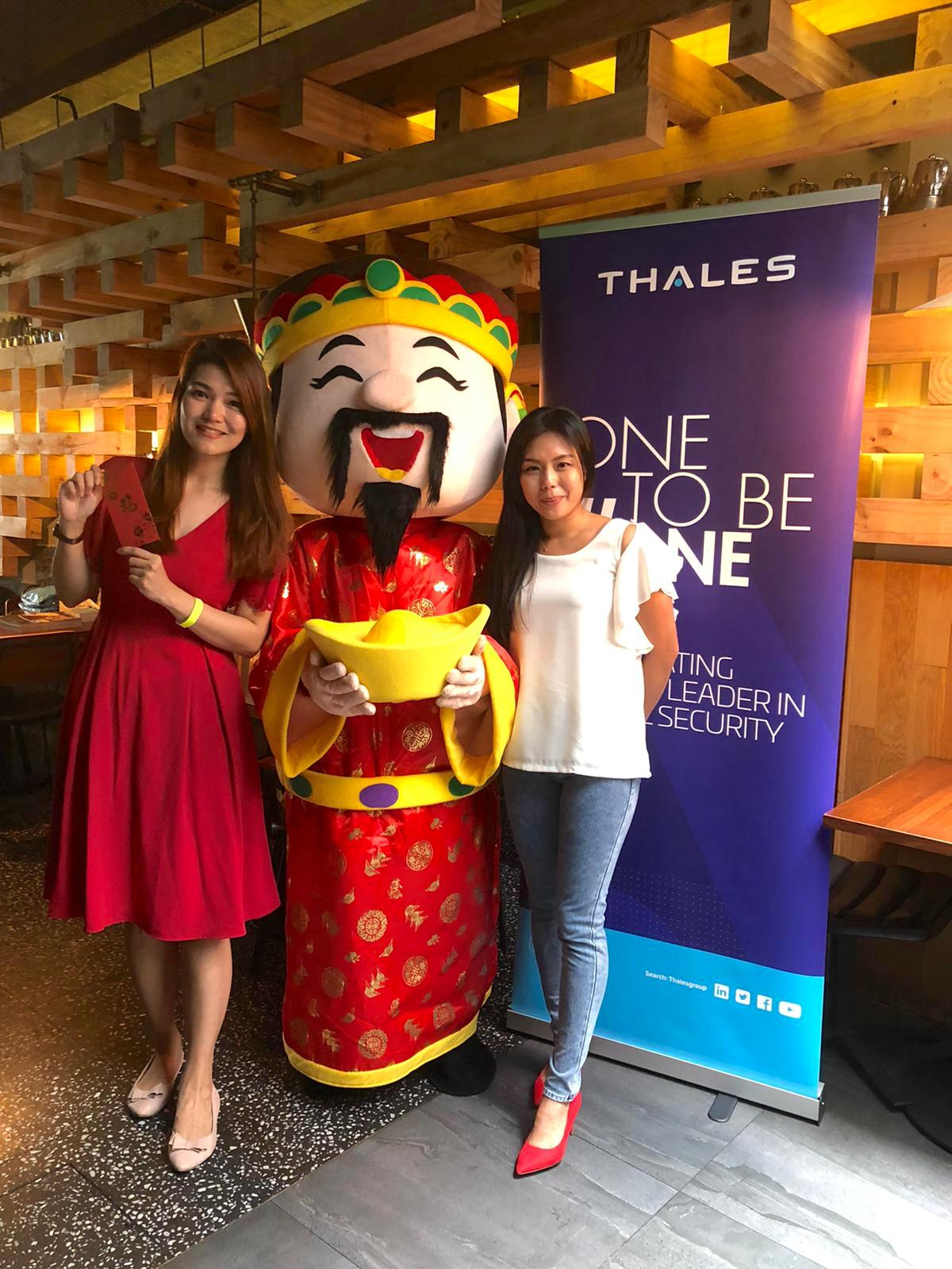 Chinese New Year Cai shen ye mascot in singapore for rental