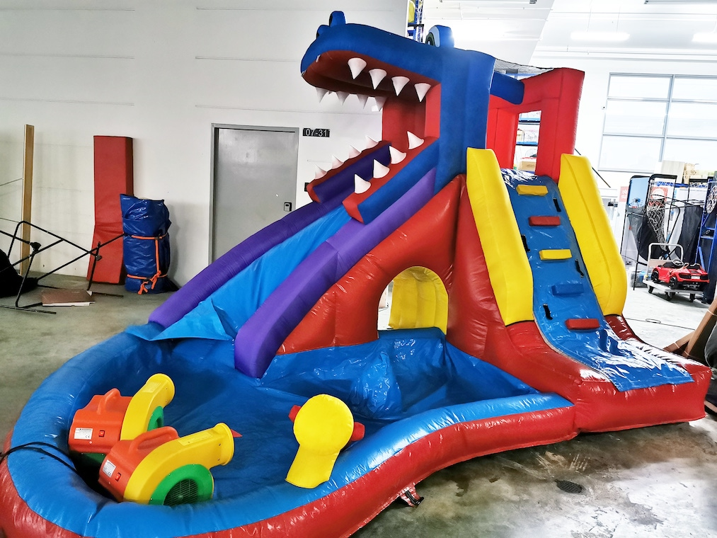 Corcodile Club Water Bouncy Castle Rental Singapore