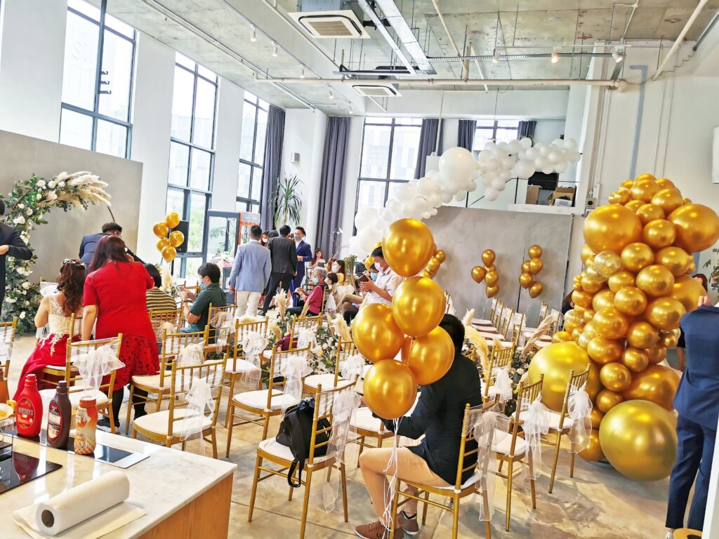 Event Space Balloon decorations