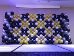 Grand Stage Balloon Backdrop 1