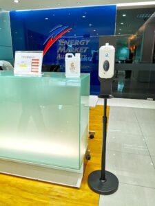 Hand Sanitiser Dispenser Stand Rental