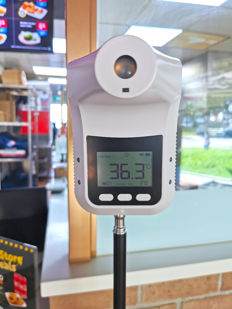 Infrared Thermometer on Stand Rental Singapore