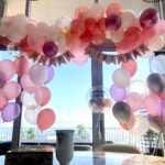 Organic Balloon Decorations for Birthday Party