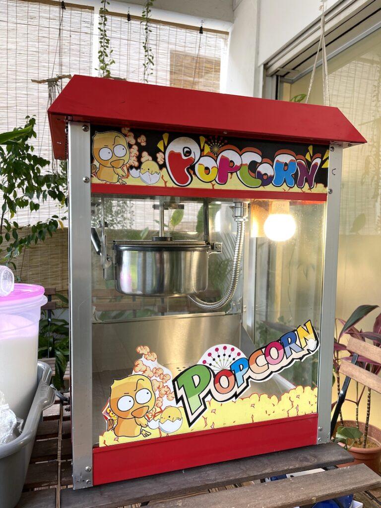 Rent popcorn machine in Singapore