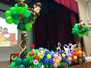 Stage Balloon Decoration