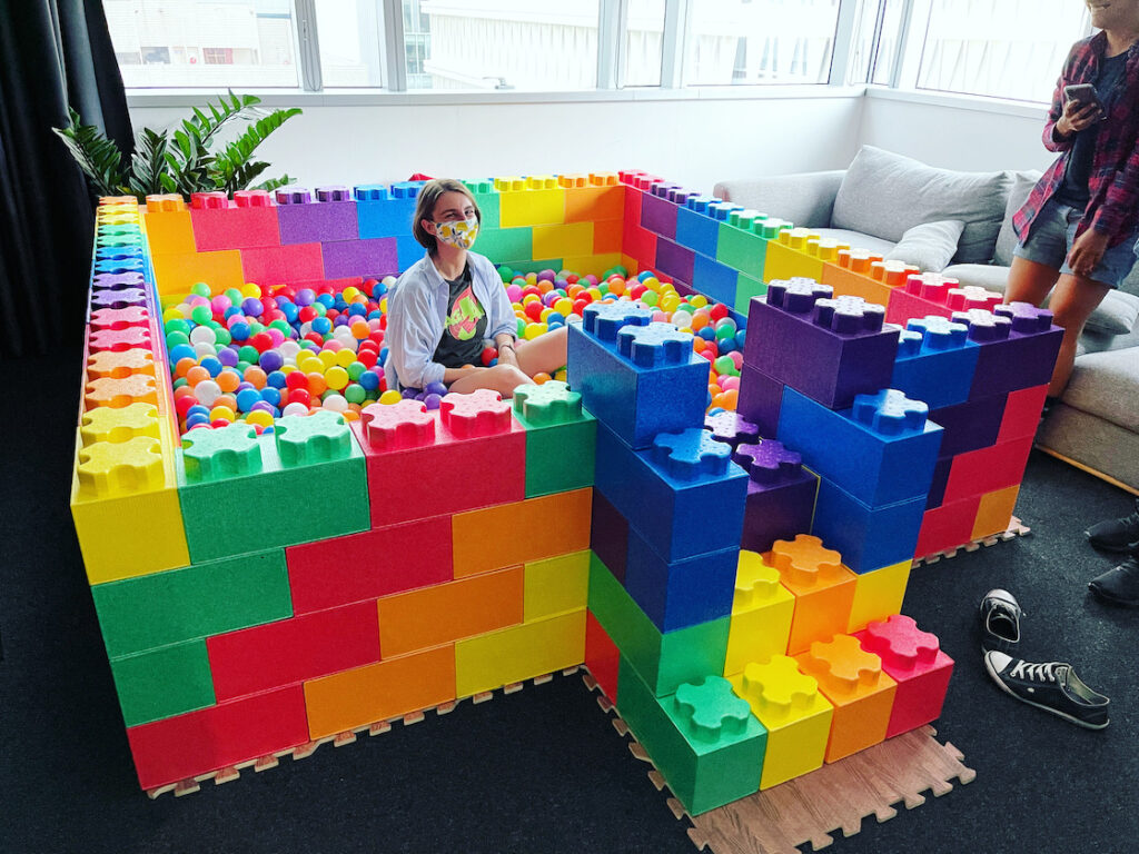 Colourful Ball Pit for Rent in Singapore