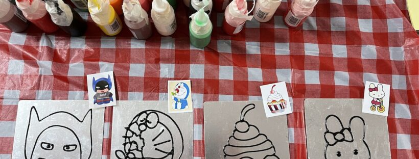 Hire Window Art and Craft for Kids Party