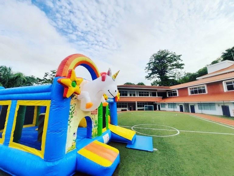 Unicorn Bouncy Castle for hire singapore