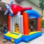 Aeroplane Bouncy Castle Rental singapore
