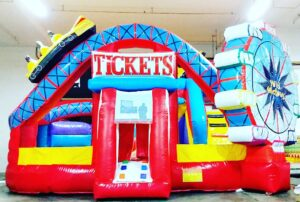 Carnival Land Bouncy Castle for rent