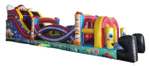 Circus Inflatable Obstacle