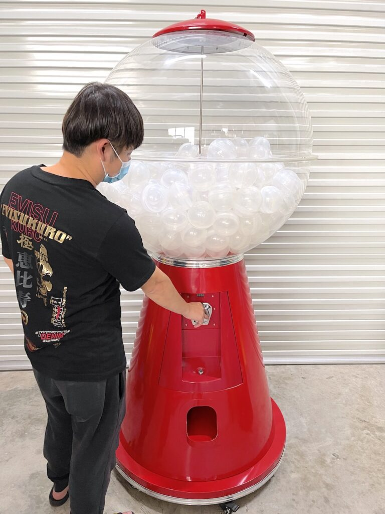 Gashapon Machine Rental Supplier in Singapore
