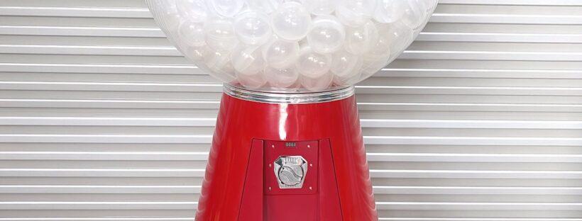 Giant Gashapon Capsule Balls Dispenser Machine Rental Singapore