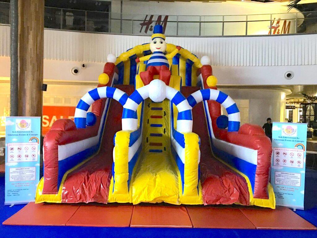 Inflatable Snowman Mega Slide Rental
