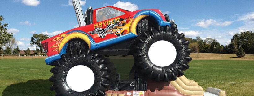 Monster Truck Bouncy Castle Singapore