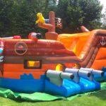 Pirate Ship Bouncy castle rental