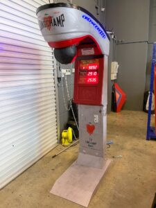 Arcade Punching Machine Rental Customisation